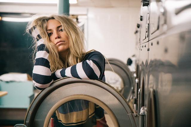 únava u pračky