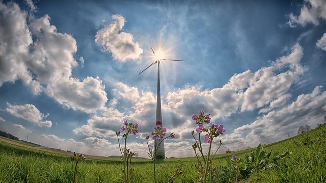 větrnná energie