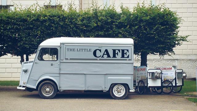 pojízdná prodejna kávy