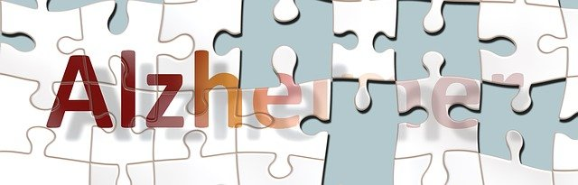 alzheimerova choroba na puzzle