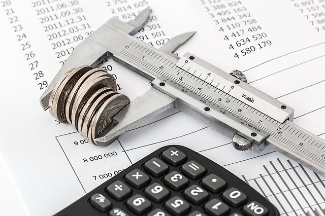 rozpočet pod kalkulačkou