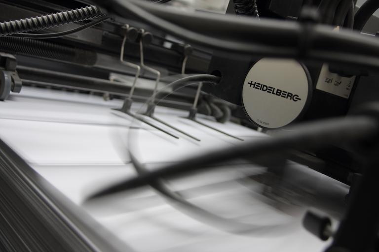tisknutí letáků