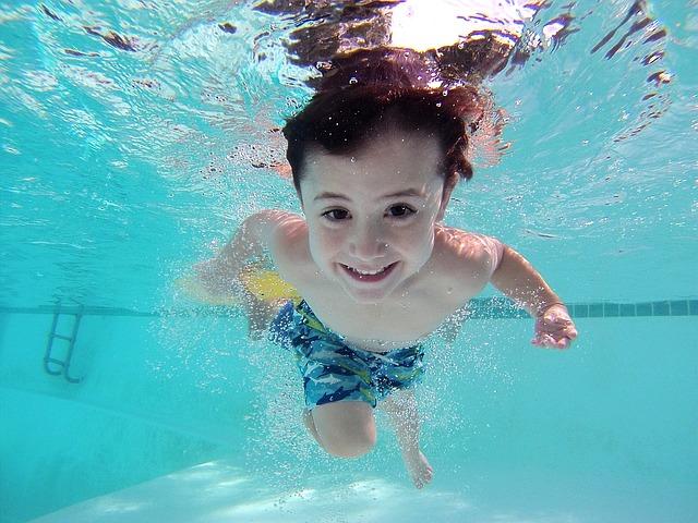 potápení pod vodou