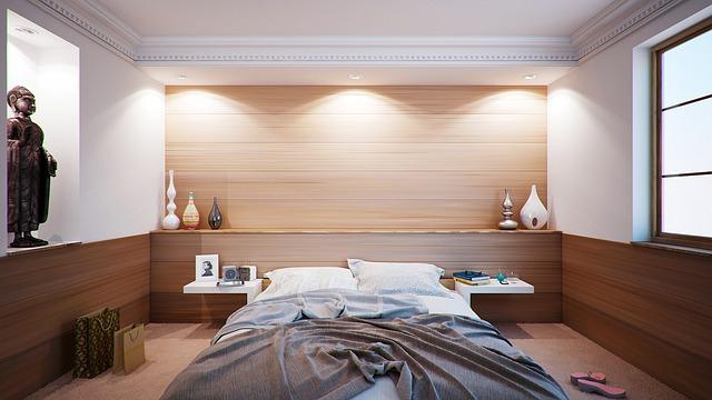 ložnice do hněda