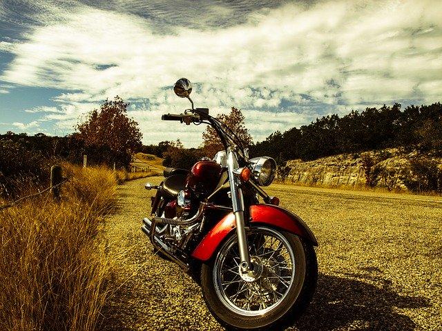 cestování na motocyklu