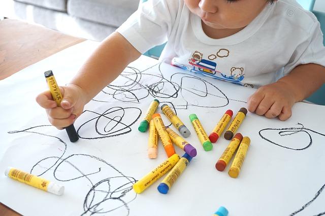 dětské umělecké dílo